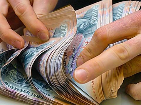 pénzköteg