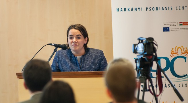 Novák Katalin, család- és ifjúságügyért felelős államtitkár