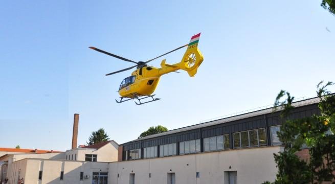 Térségünkbe továbbra is Pogányból érkezik majd a helikopter.