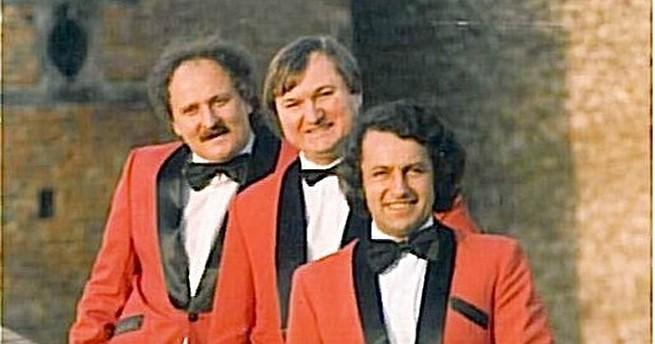 Bircsák László (j), Berta Zoltán Golyó (k), a bal szélen Marenics János (b).