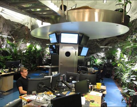 A WikiLeaks főhadiszállása Svédországban, egy sziklába van építve.