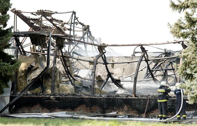 Leégett egy tésztagyár Bábolnán