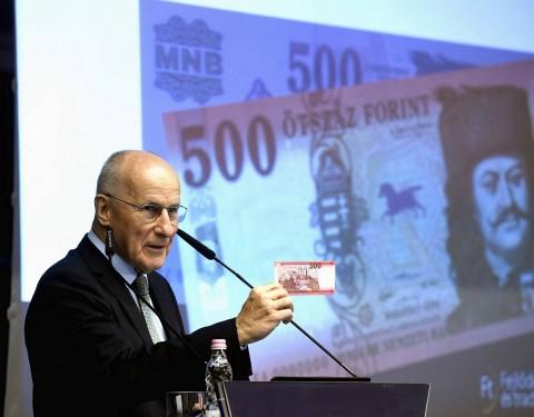 Gerhardt Ferenc, a Magyar Nemzeti Bank (MNB) alelnöke.  Fotó: Bruzák Noémi, MTI