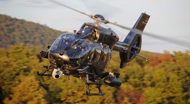 H145M Hforce helikopter tesztje a pápai légibázison. Fotó: Airbus