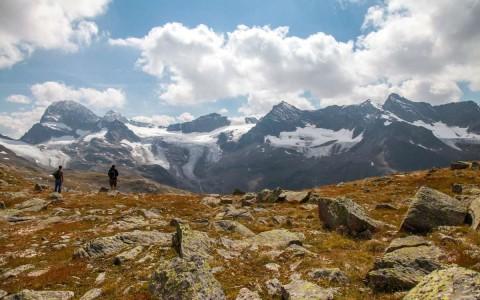 Az Alpok Silvretta hegycsoportja