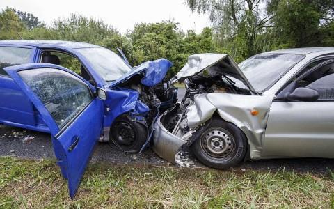 Két halálos áldozattal járó Baleset Zalalövő és Zalacséb között 2018 szeptemberében. Fotó: Varga György, MTI