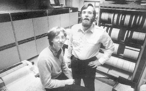 Bill Gates és Paul Allen 1981-ben.