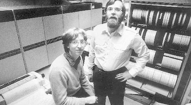 Bill Gates és Paul Allen 1981-ben.