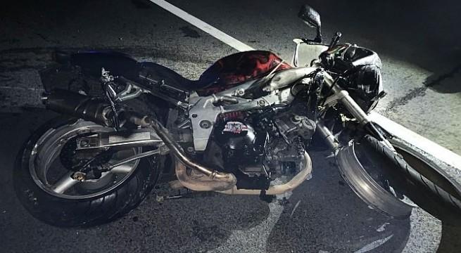 Halálos motorbaleset Egerben - rendőrségi felvétel