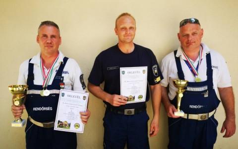 Kanyar István (b) és  Wenhardt Attila (j) - rendőrségi felvétel