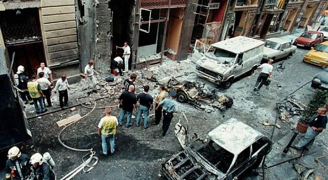 """Portik a négy áldozattal járó  Boros """"Óriás"""" Tamás elleni Aranykéz utcai robbantásnak is felbujtója volt."""
