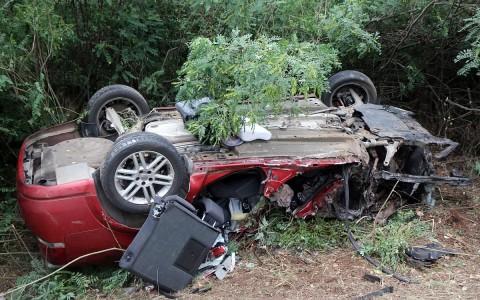 Apa és kisbabája halt meg egy balesetben csütörtökön  Szerencs közelében. Fotó: Vajda János, MTI