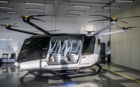 A Genevation Aircraft hidrogéncella-meghajtású, fejlesztés alatt álló drónja. Fotó: Ujvári Sándor, MTI