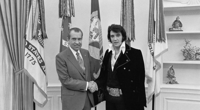 Richard Nixon és Elvis Presley