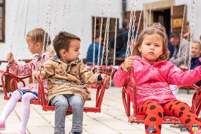 Gyereknapi rendezvény a siklósi várban